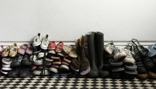 How many shoes can one family have?
