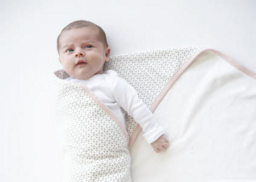 Swaddling can help aid settling