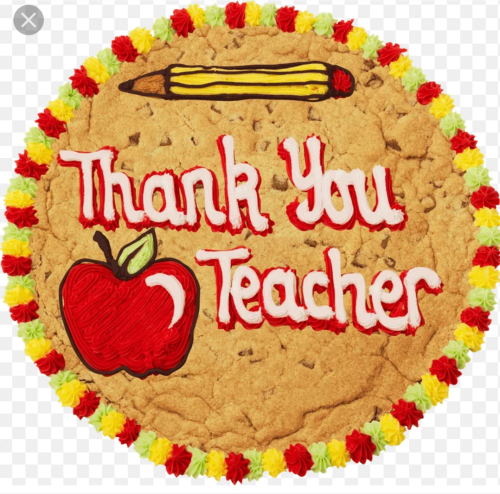 Millies Cookies Giant Thank You Teacher Cookie