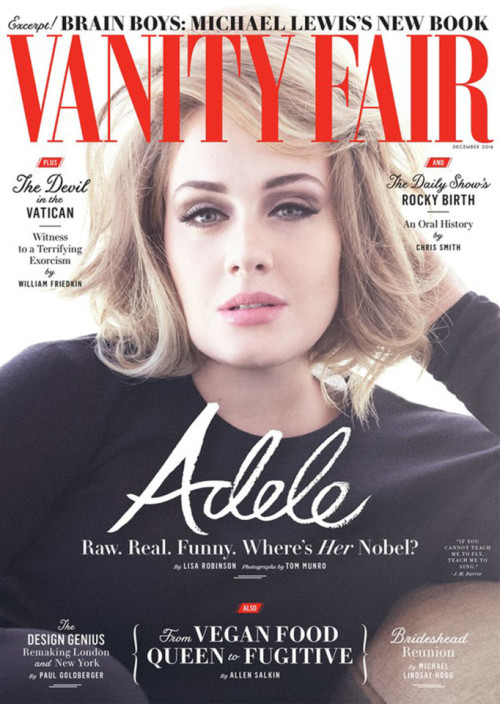 Adele had the guts to admit she struggled too
