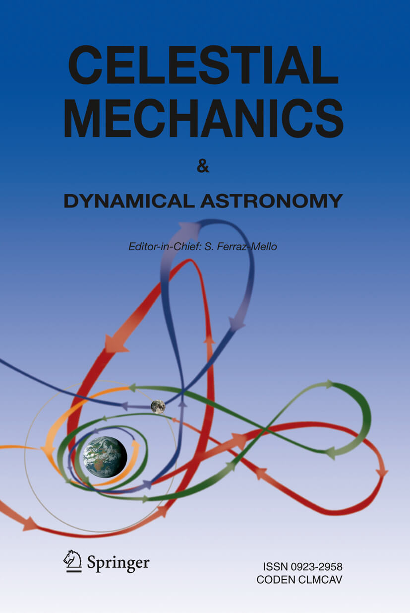 Celestial Mechanics and Dynamical Astronomy - Springer LaTeX Template