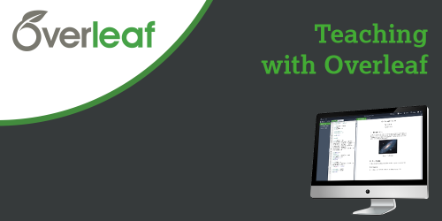 GoToStage Teaching With Overleaf
