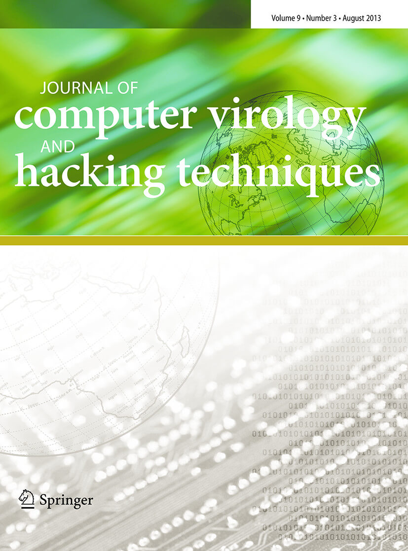 Journal of Computer Virology and Hacking Techniques - Springer LaTeX Template