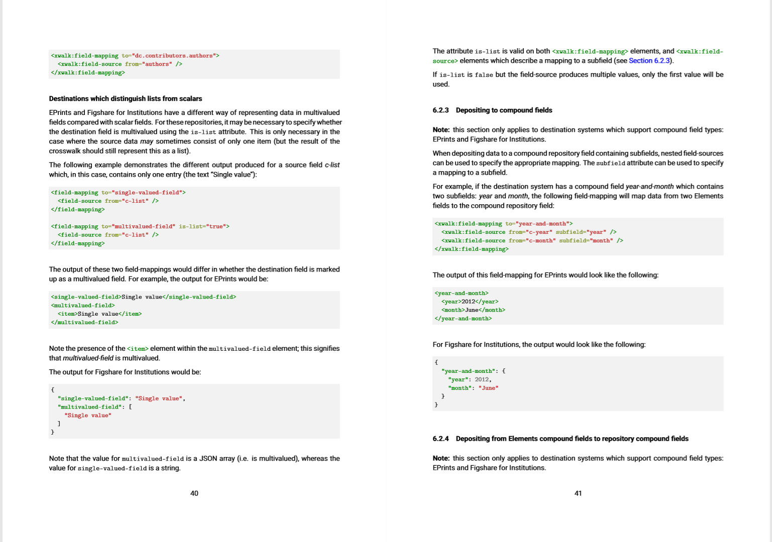 Symplectic Elements typeset documentation