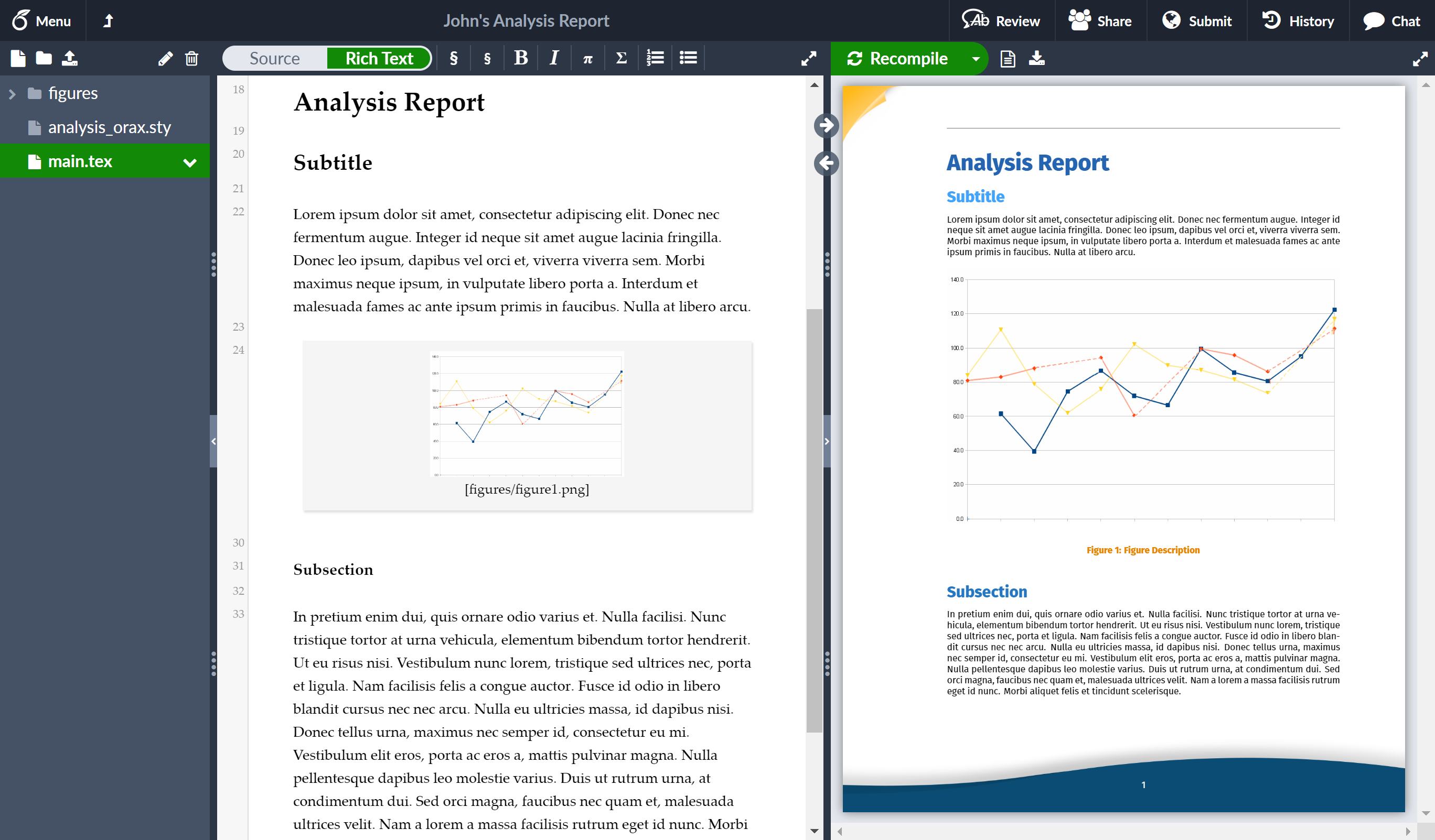 overleaf-analysis-report-template-example
