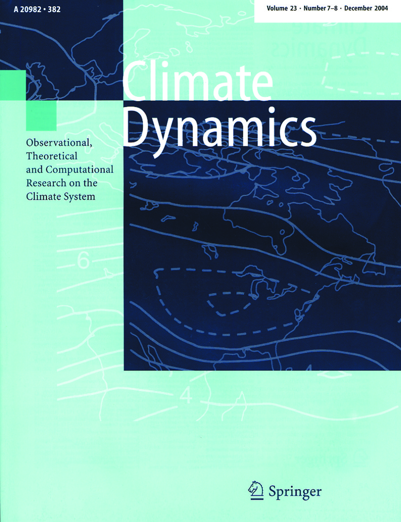 Climate Dynamics - Springer LaTeX Template