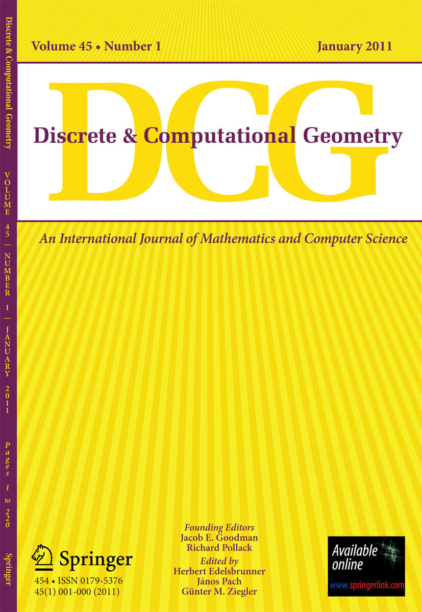 Discrete and Computational Geometry - Springer LaTeX Template