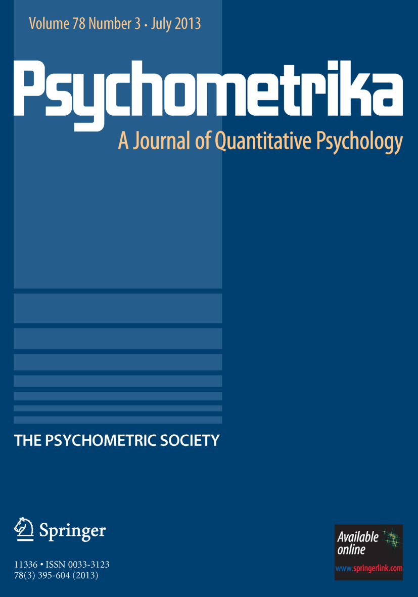 Psychometrika - Springer LaTeX Template