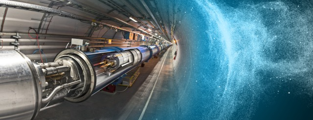 3D dipole integration panoramic poster http://cds.cern.ch/record/1996997. ©️ CERN.