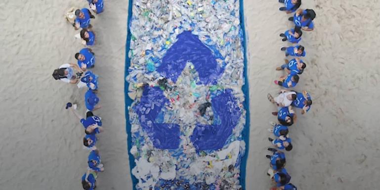 Ending beach plastic pollution
