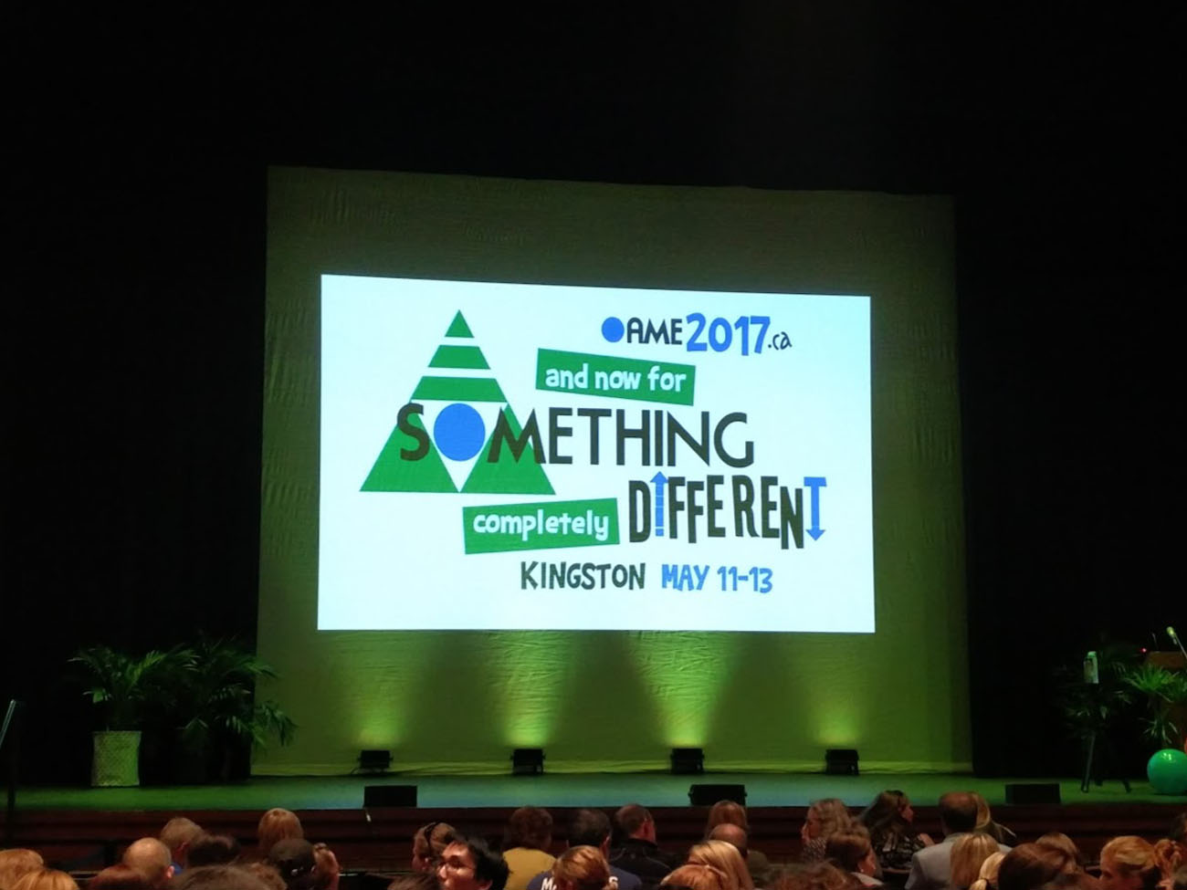 OAME 2017 - and now for something completely different