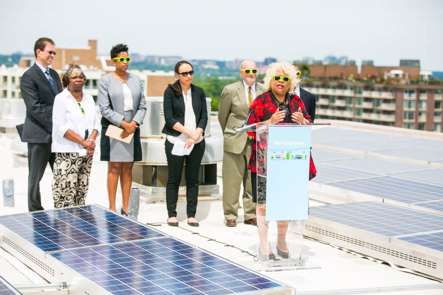 Financing supports the installation of solar power on affordable housing as was the case at Channel Square Apts, the largest privately-owned solar array in Wash. D.C..