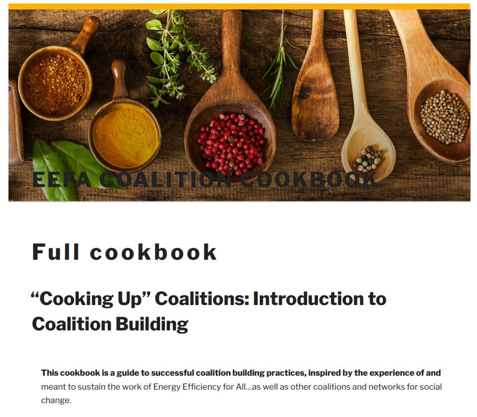 coalition cookbook