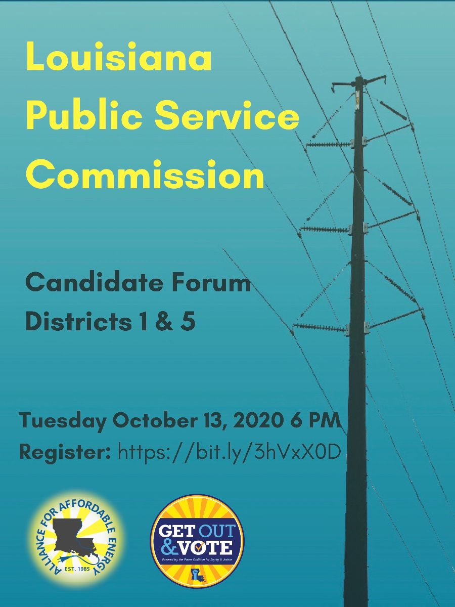 Louisiana Public Service Commission Candidate Forum