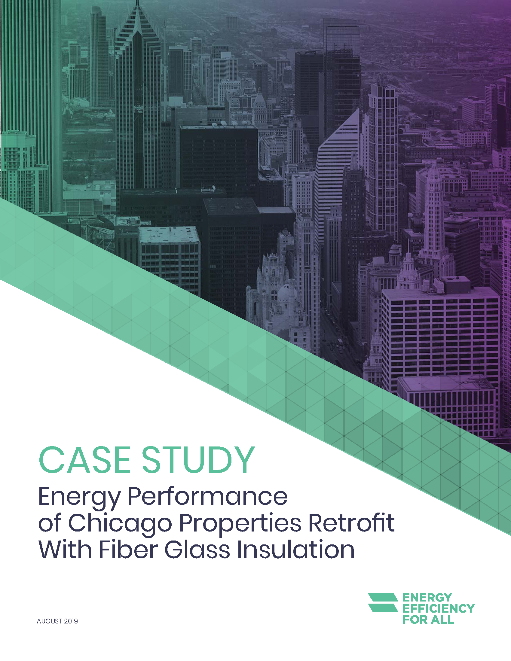 Healthy Building Materials Case Study: Energy Performance of Chicago Properties Retrofit With Fiber Glass Insulation