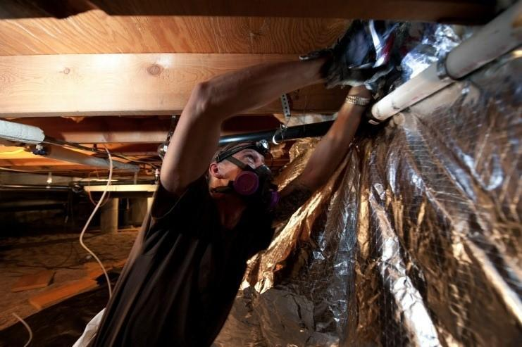 WAP Insulation Installation
