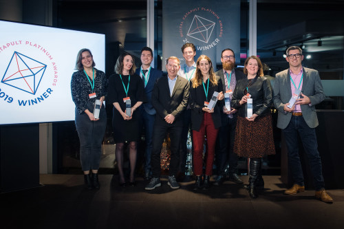 Digital Catapult's Platinum Awards winners announced