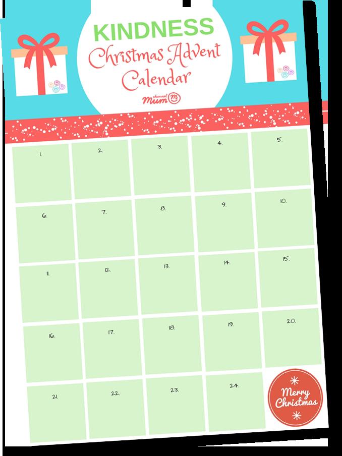 Kindness Calendar Channel Mum