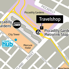 Travelshop map