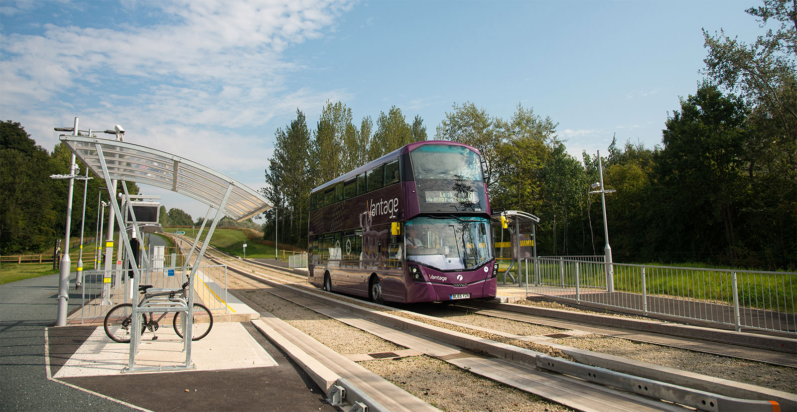 TfGM Bus Priority Package - Guided busway