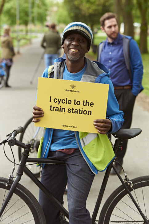 TfGM - I cycle to the train station