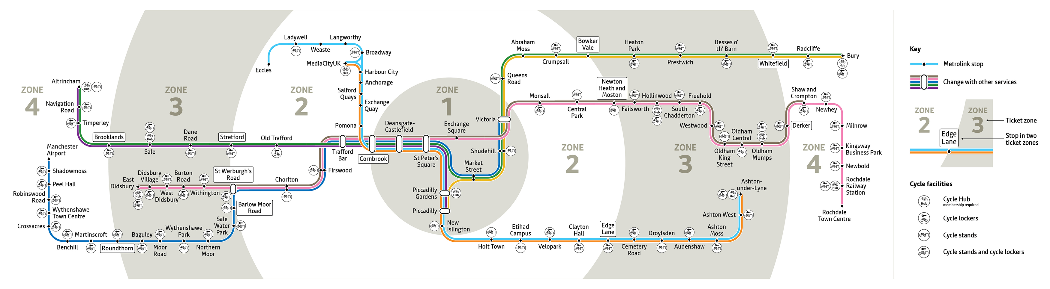 Gmp Subway Map.Maps Transport For Greater Manchester