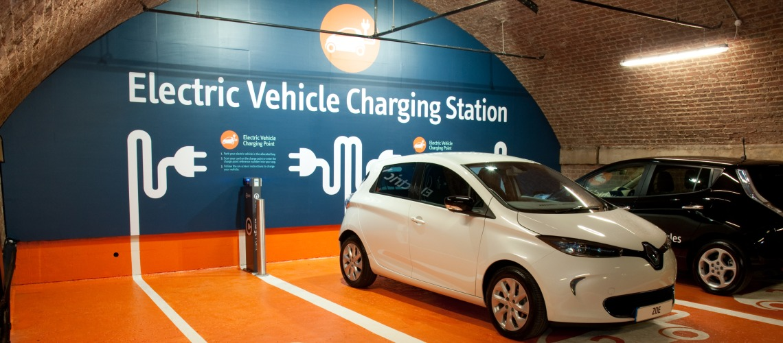 Electric vehicle charging station 2 1