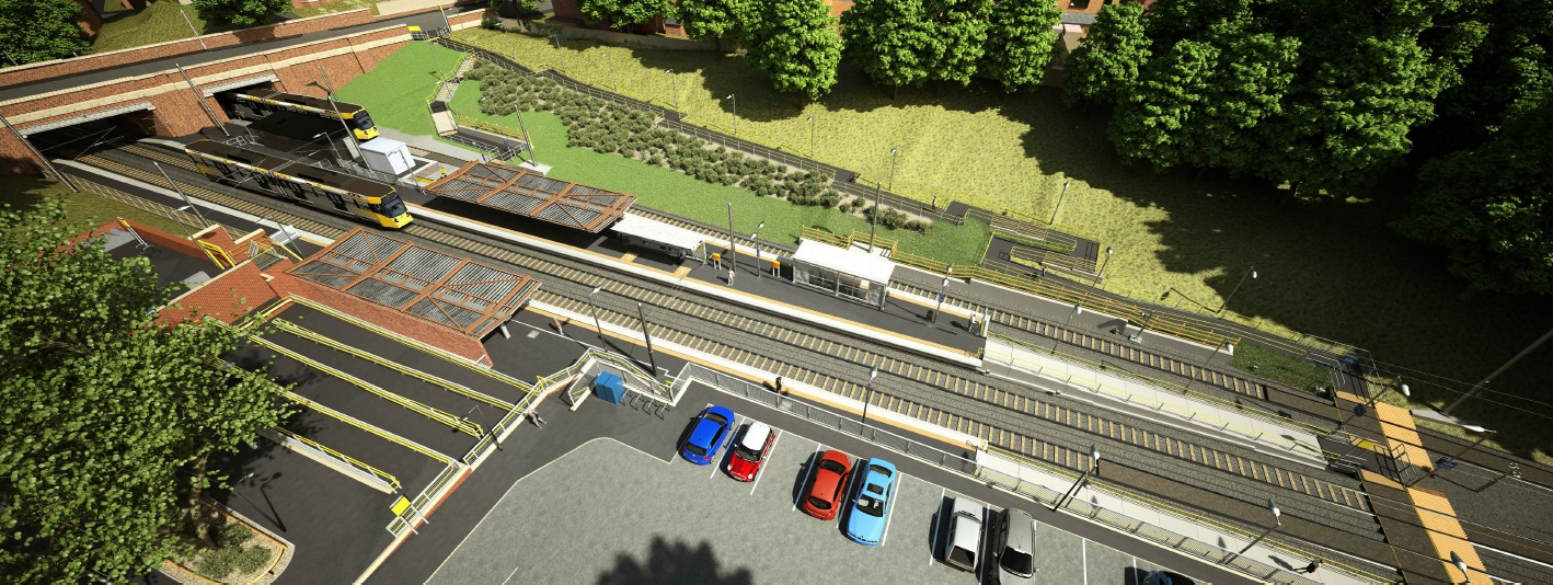 Works At Crumpsall Metrolink Stop Transport For Greater Manchester