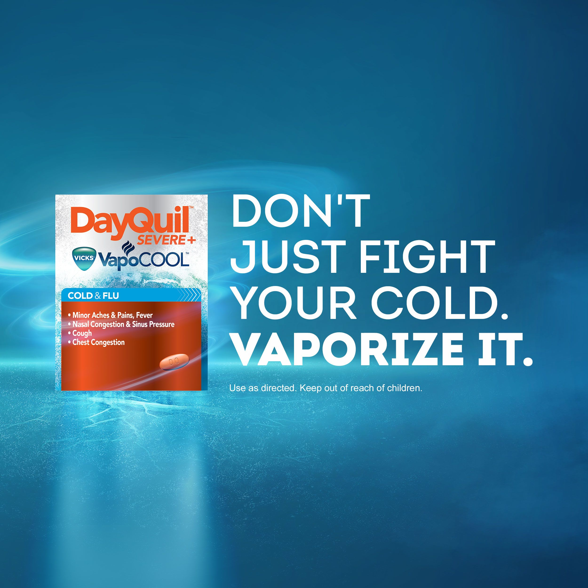 DayQuil™ Cold & Flu - Vicks