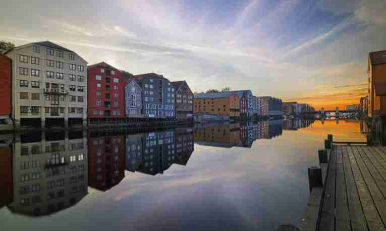 Trondheim city centre