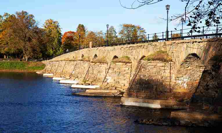 stone vault bridge, karlskrona, östa bron, east bridge
