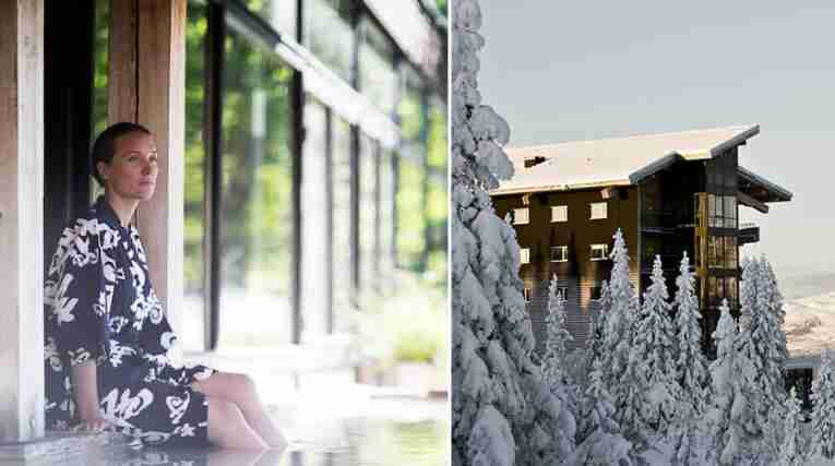 Spa at Yasuragi outside Stockholm and winter at Copperhill Mountain Lodge in Åre