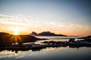 Bodø midnight sun