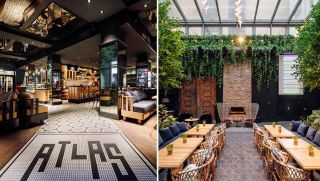 Amerikalinjen: Atlas Brasserie & Cafe and Haven