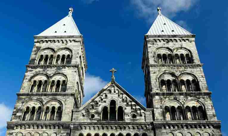 lund cathedral, towers, lund