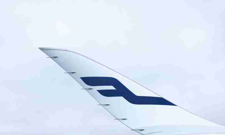 Finnair detail winglet