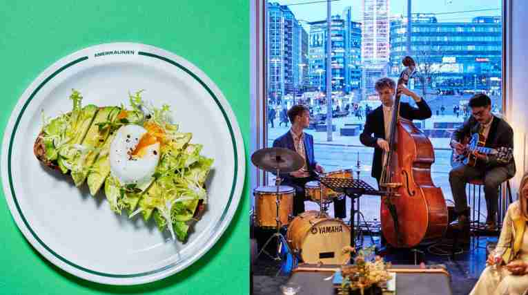 Jazzbrunch at Amerikalinjen Hotel