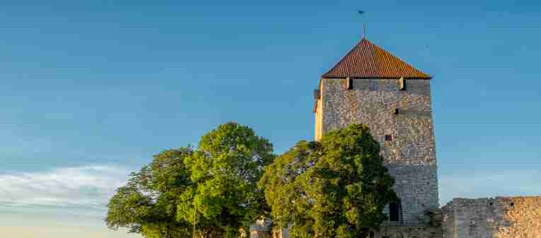 Visby in the summer