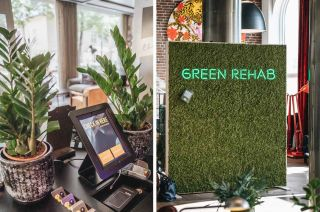 Comfort Hotel: Green Rehab check in