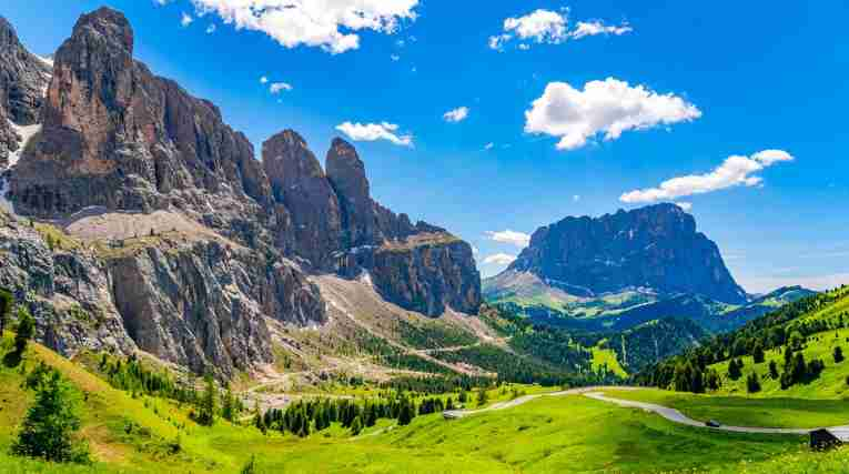 Val Gardena - moutain view, summer