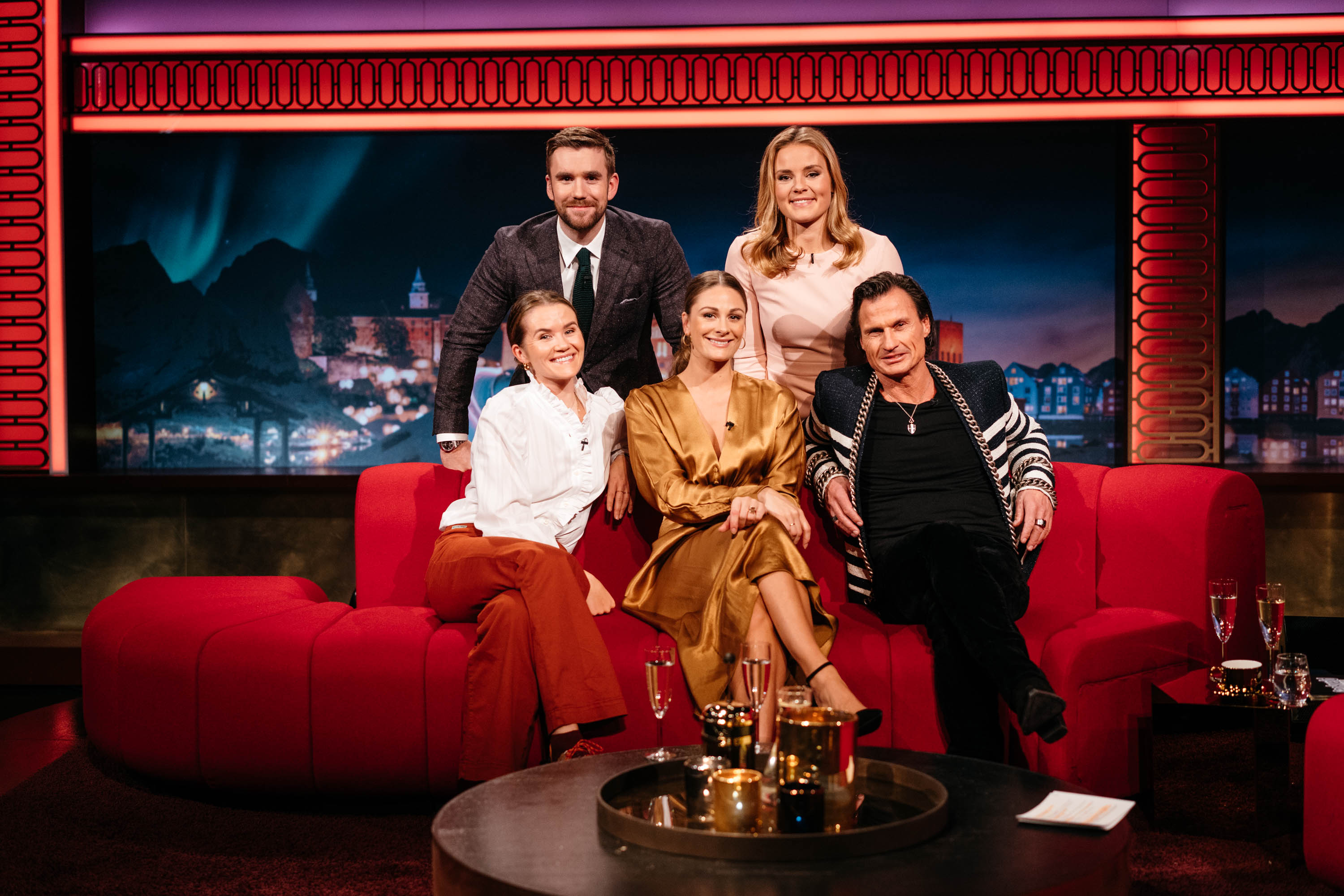 Norwegian tv-show with Helene and Stian