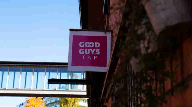Karlstad - Good Guys Tap sign