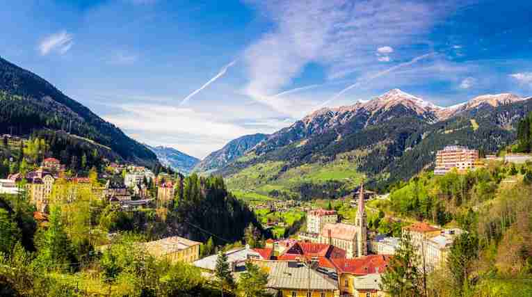 Bad Gastein - summer, view