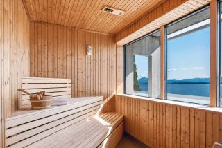 Sauna at Quality Hotel Alexandra