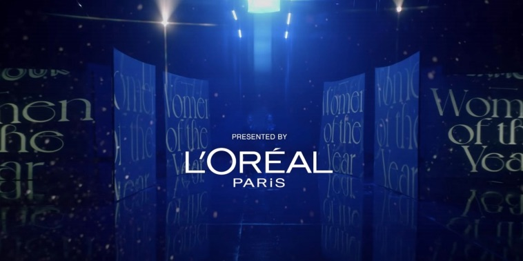 LOreal image - Rebecca Macdonell - US - Glamour - WOTY