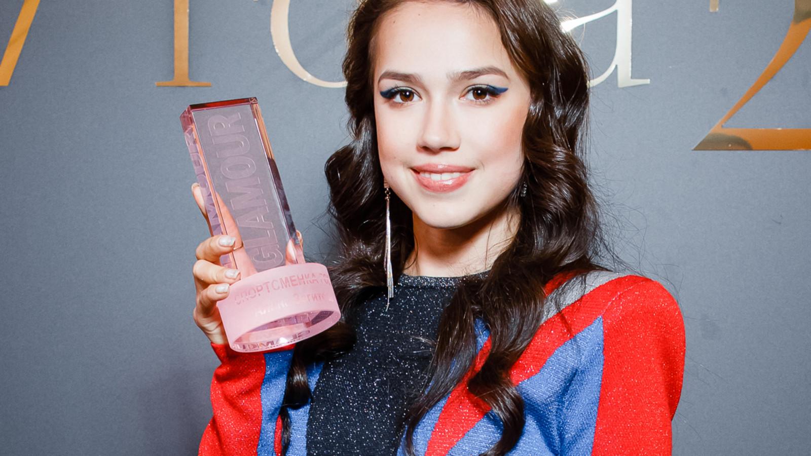 Alina Zagitova - Maria Pertseva-Khvaley - Russia - Glamour WOTY - square