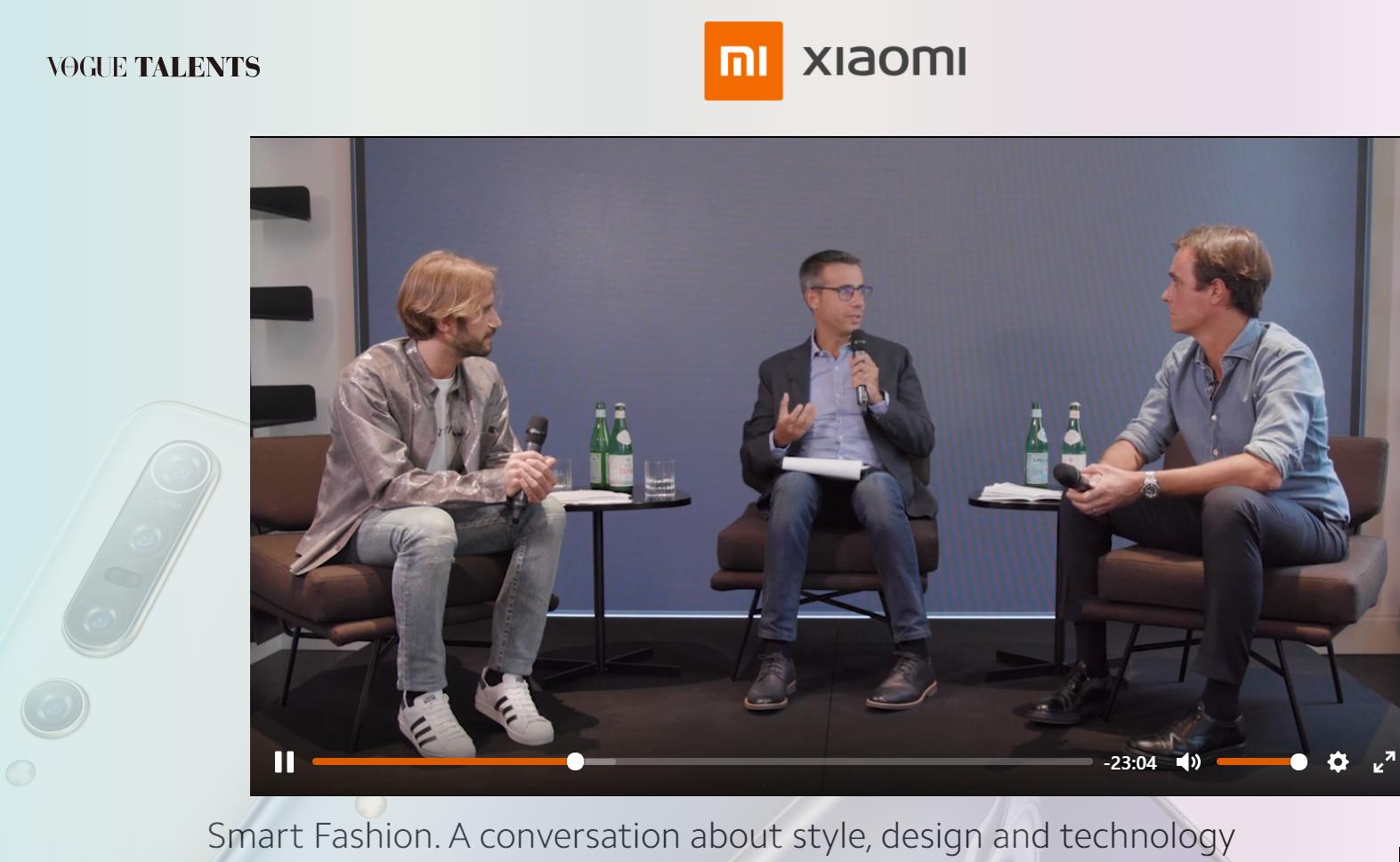 Xiaomi - Benedetta Malavasi - Italy - The World of Vogue Talents - Sponsor 3