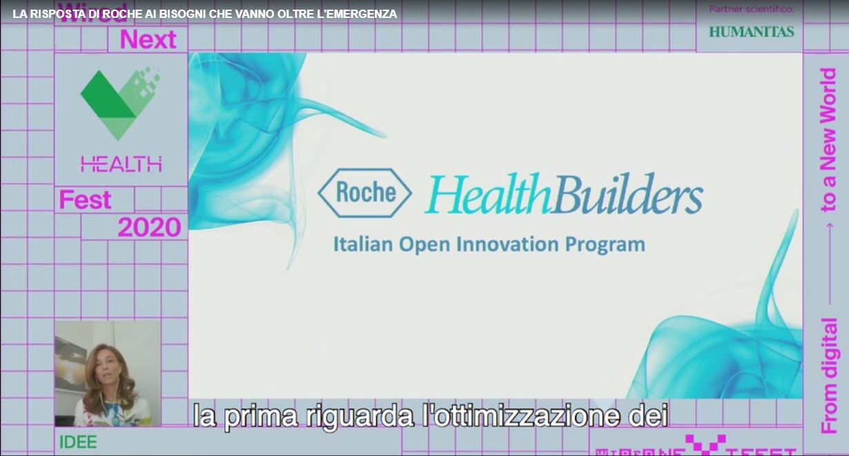 ROCHE SPONSOR 02 - Valentina Corio - Italy - Wired Health - sponsor 2