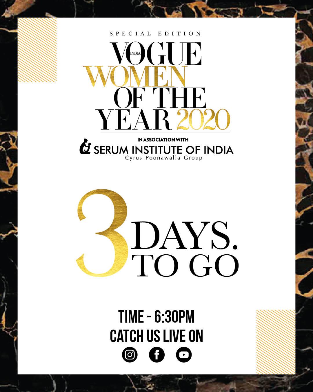 IG POST countdown - Madhura Phadnis - India - Vogue WOTY - Sponsor 2
