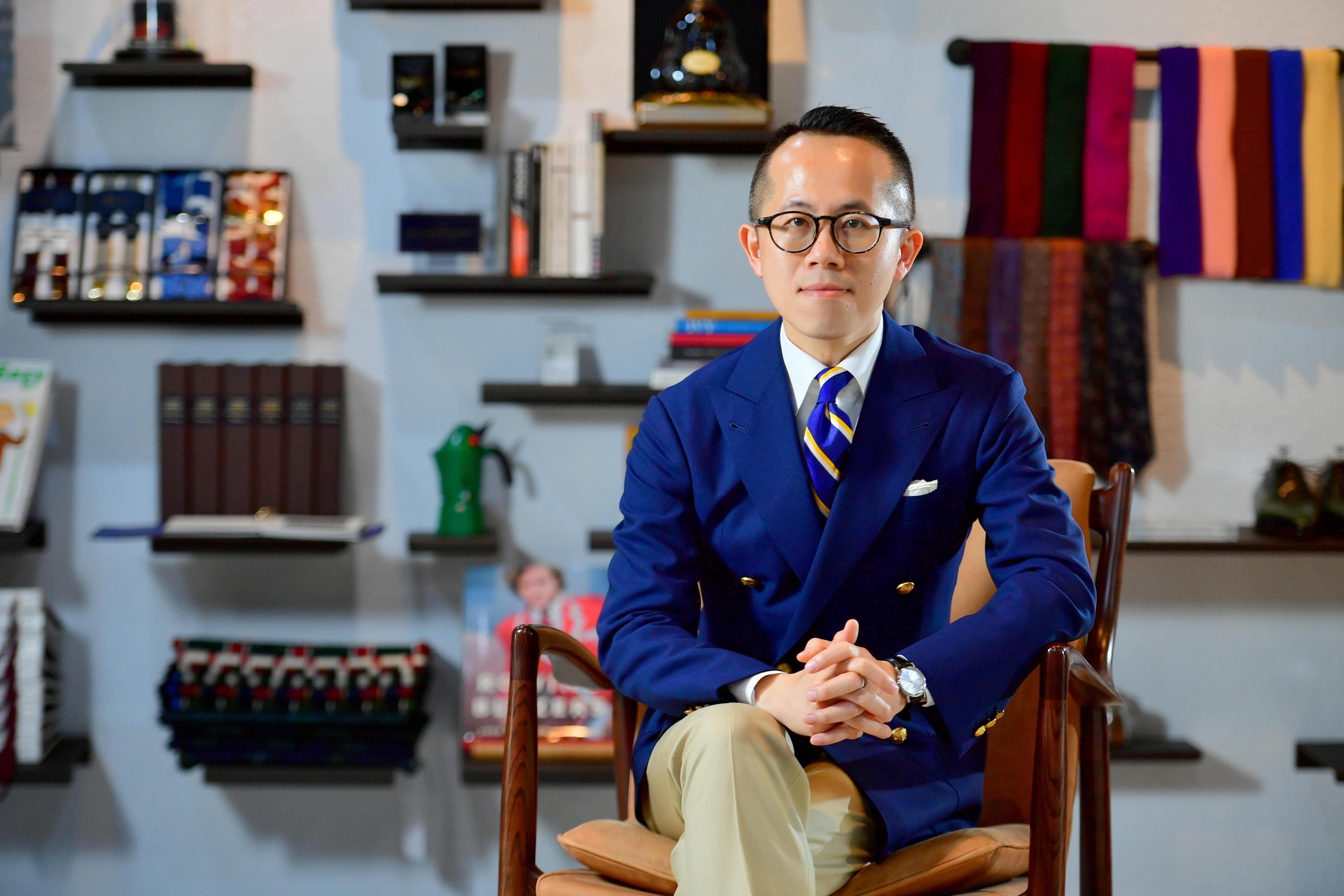 Gao Wu Collective - giles.heasman(何家樂) - Taiwan - GQ Suit Walk - Sponsor 3
